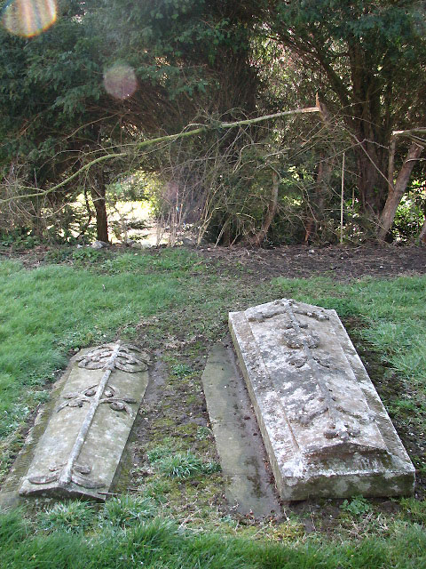 St Margaret's church - graves