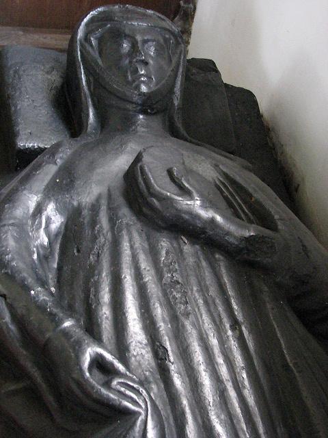 St Margaret's church - the Black Abbess