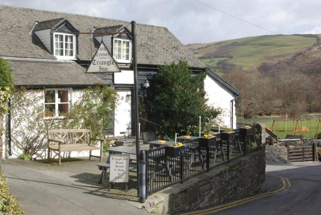 The Triangle Inn, Cwmdeuddwr