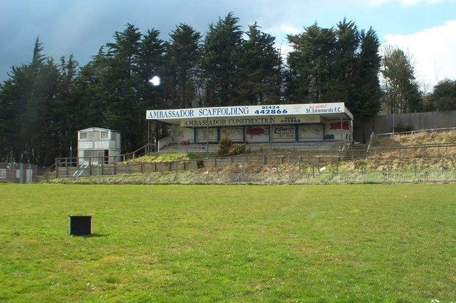 The Firs, St Leonard's FC,  Pilot Field, Elphinstone Road