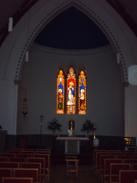 Stained Glass in St. Simon's Church
