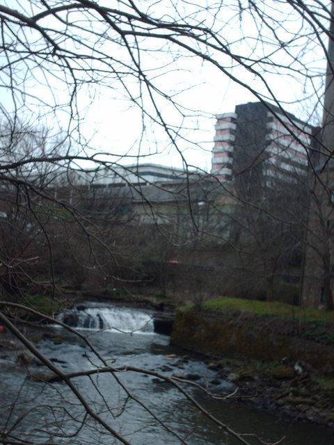 The river Kelvin At Yorkhill
