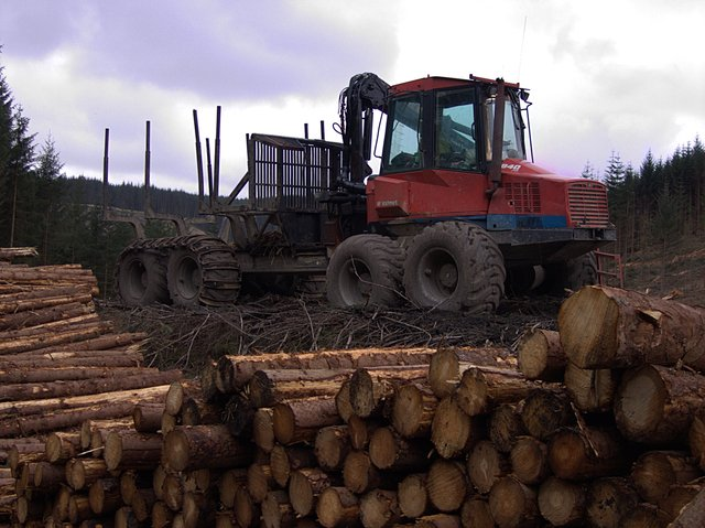 Forestry machinery