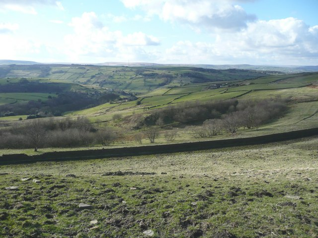 Former Cold Acre Reservoir, Stainland