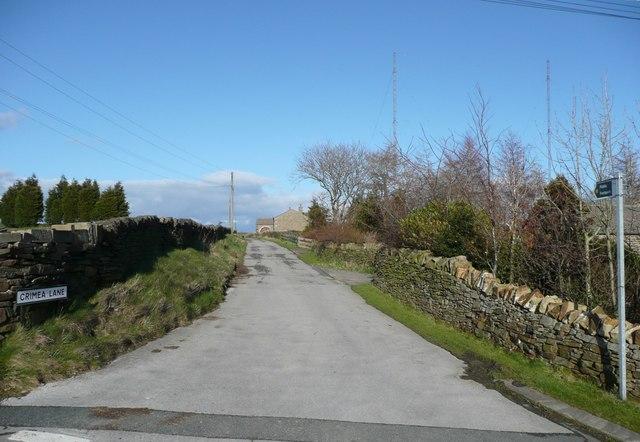 Crimea Lane, Slaithwaite
