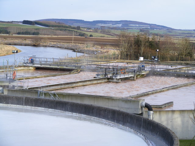 Sewage Works at Inverurie