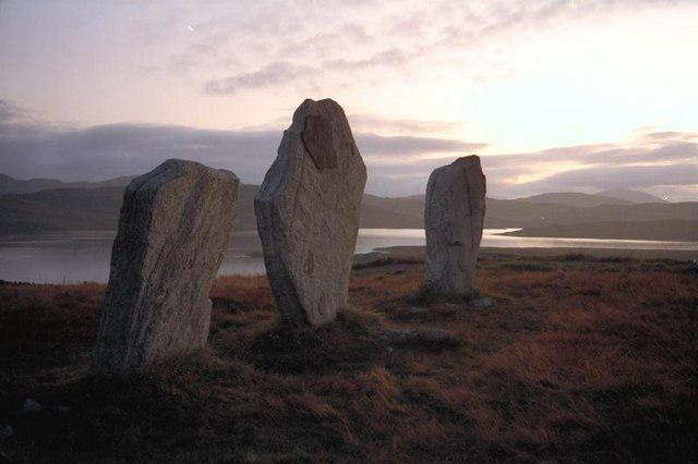 The West Row at Callanish