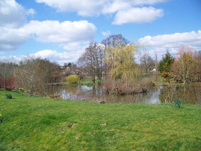 Pond at Tisbury Mill