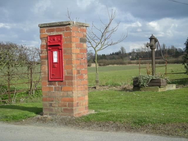 Postbox & Village Pump - Victorian necessities