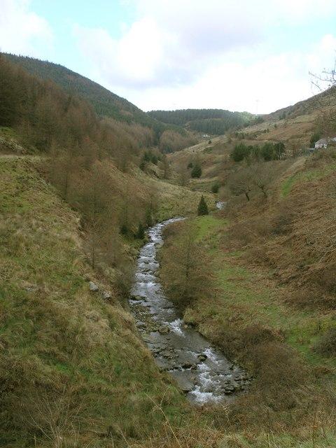 Nant Cregan Valley