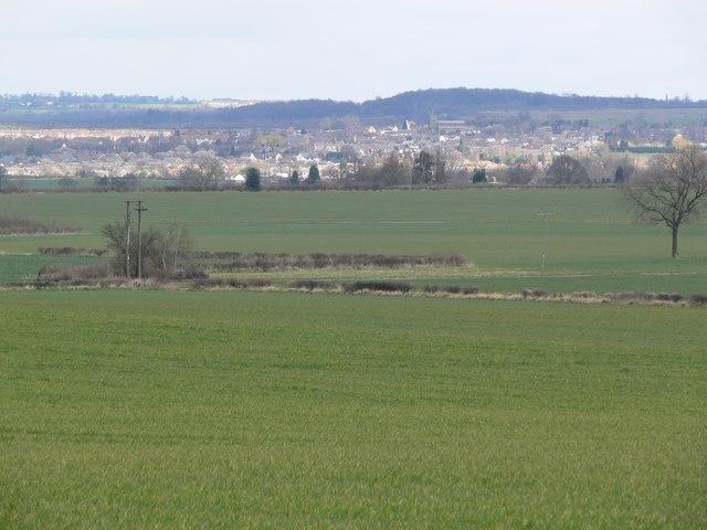 Across the fields to Measham