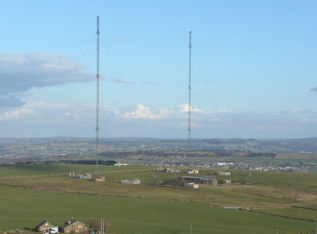 Radio Station, Moorside Edge, Slaithwaite