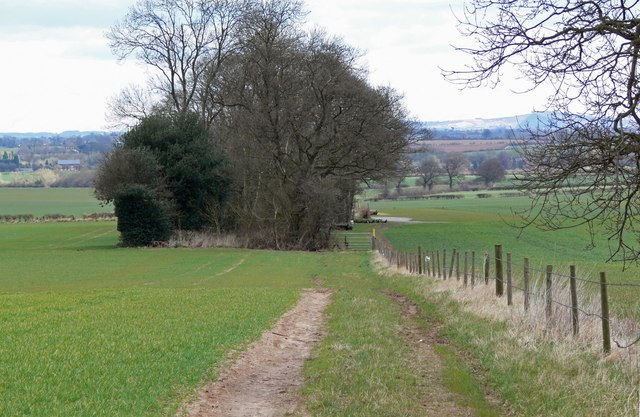 Footpath north of Norton-Juxta-Twycross