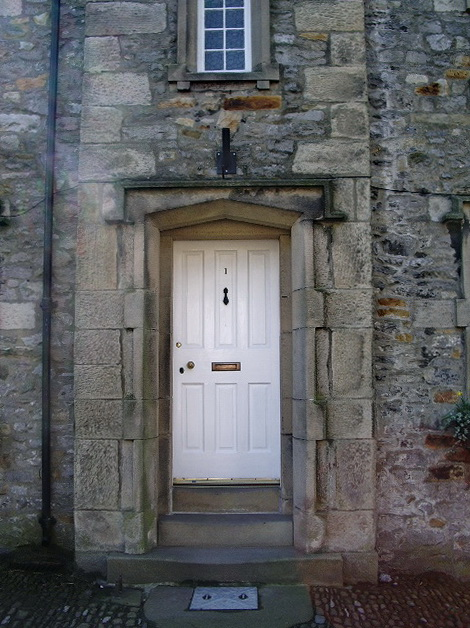 Doorway of No1 Town End, Slaidburn