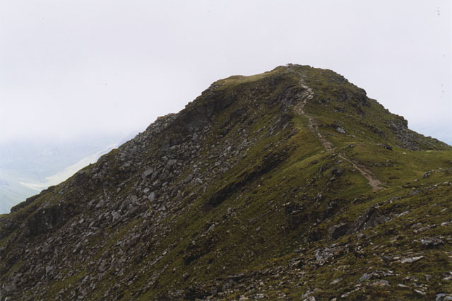 On Beinn Dorain's north ridge