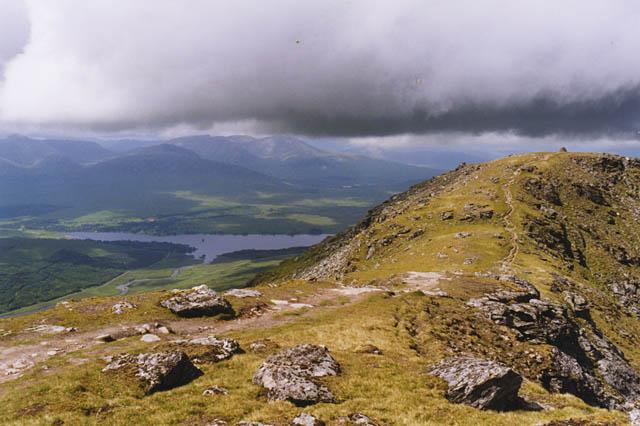 View north west from Beinn Dorain