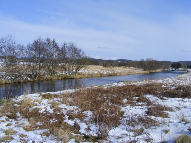 The River Deveron near Huntly