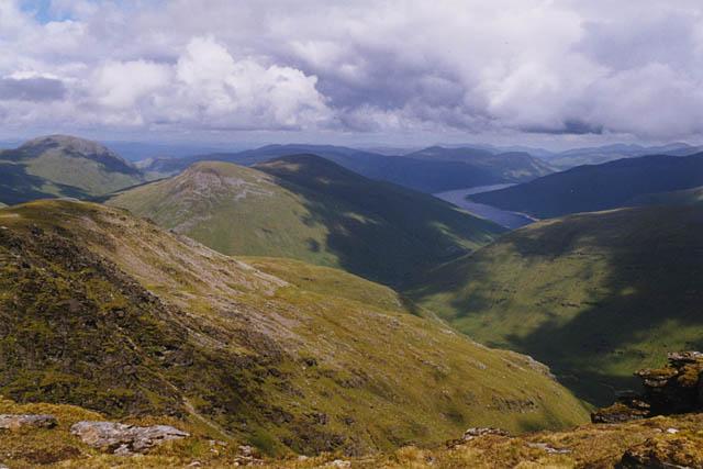 View north east from Beinn Dorain