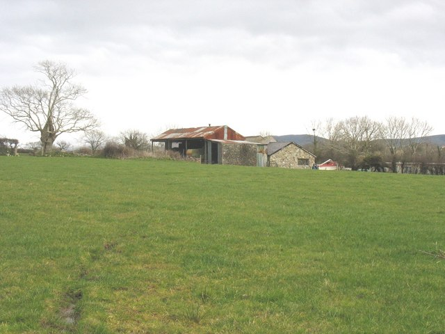Farm buildings at Greuor Farm