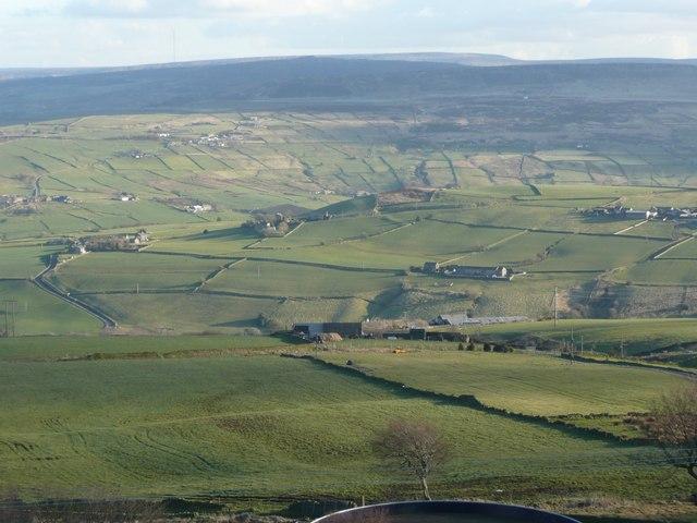 View from Worts Hill, Slaithwaite