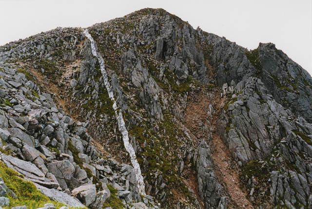 The east face of Stob Coire Dheirg