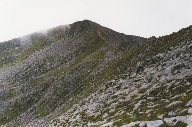 Southern slopes of Stob Coire Dheirg