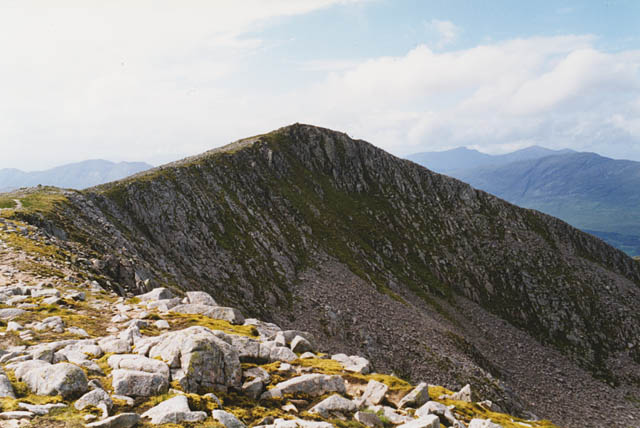 The summit of Ben Starav