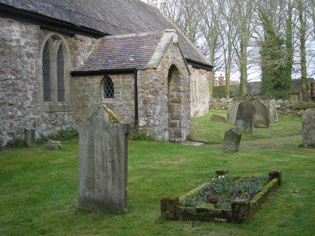 Graveyard & church porch