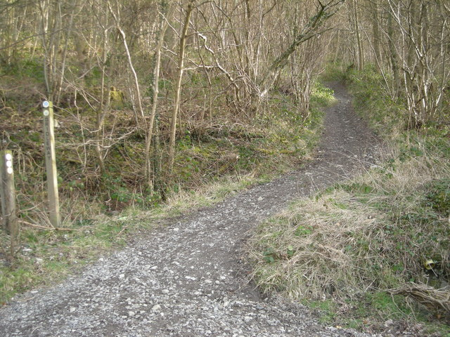 The Jack Mytton Way to a dismantled railway line