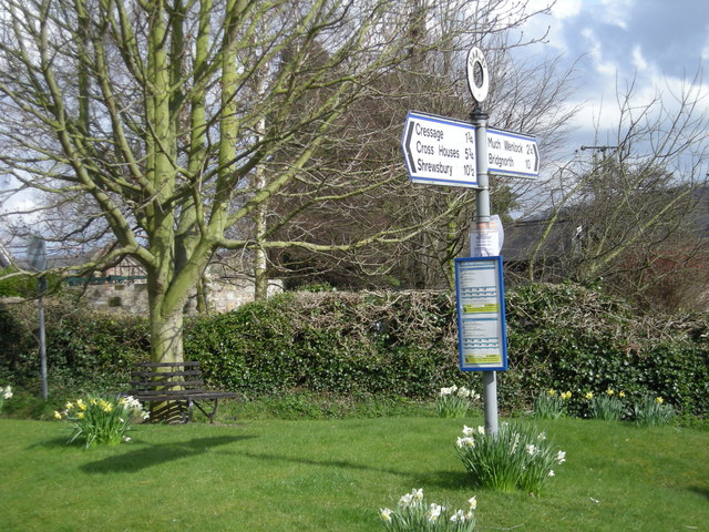 The village bus-stop