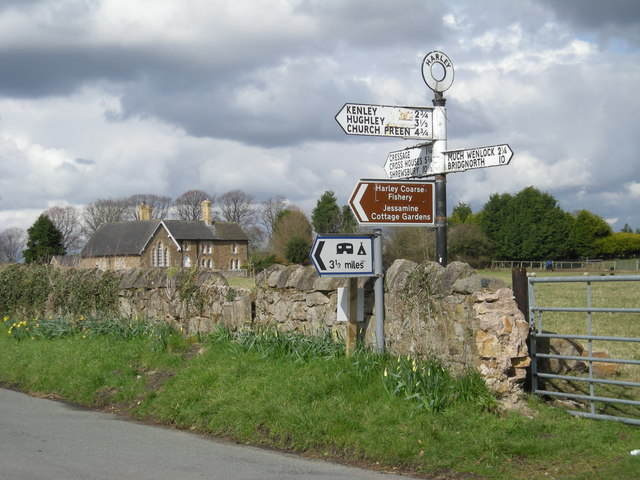 Harley fingerpost