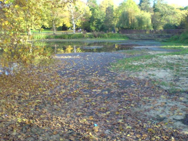 Priory Gardens pond