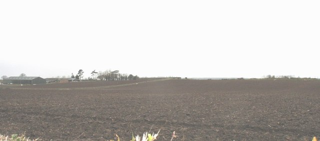 Ploughed land at Bryn Farm