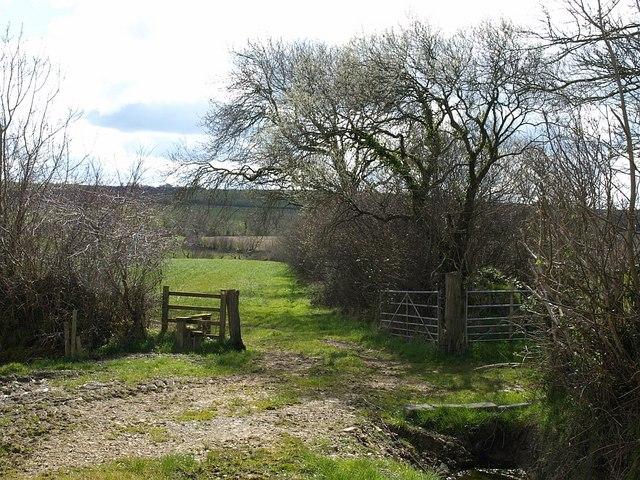 Stile near Soldonmoor