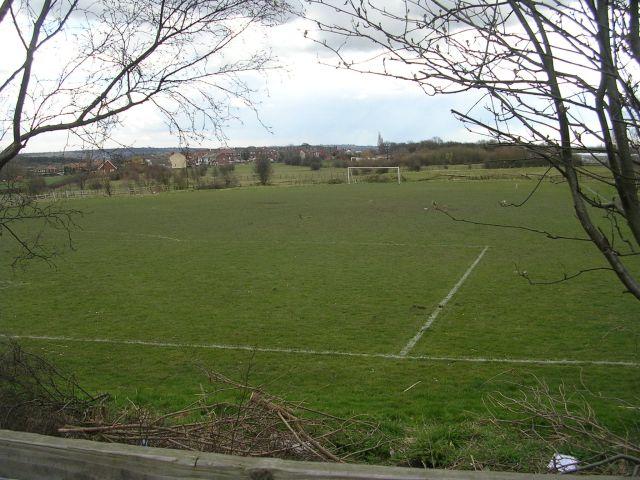 Football Pitch - Berry Lane, Great Preston