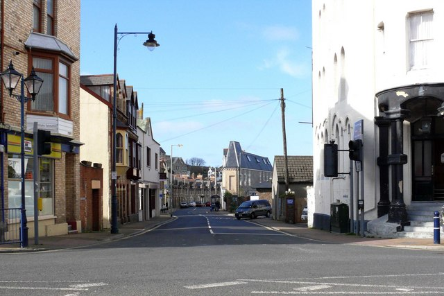 Wilder Road at the junction with Church Street