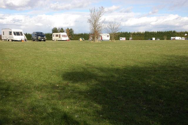 Campsite at Great Comberton