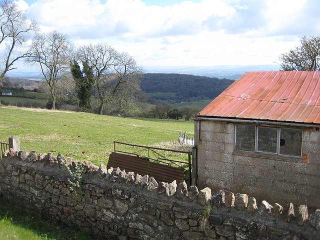 Outbuilding on Littledean Hill Road