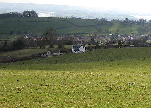 Littledean from Cinderford