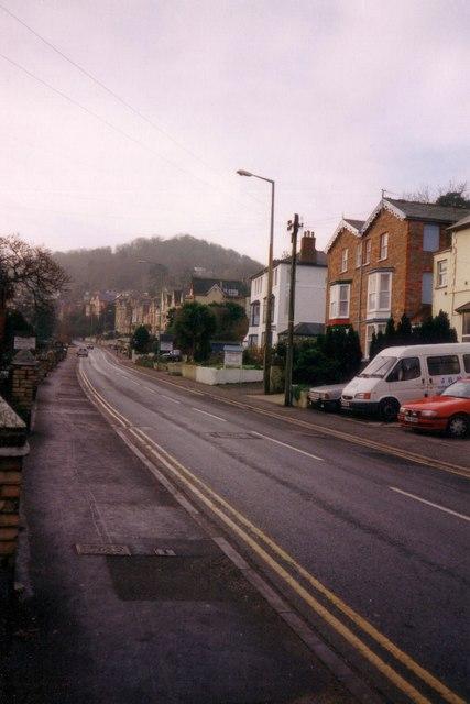 St Brannocks Road, the A361, leaving Ilfracombe