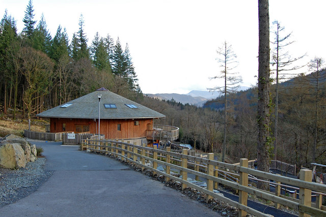 The New Coed y Brenin mountain biking and visitor centre
