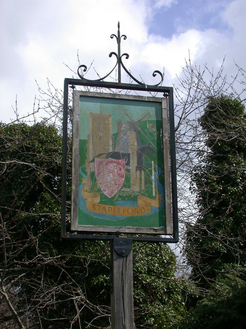 Stapleford Village Sign