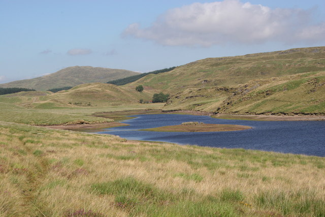 Llyn Craigypistyll from the west