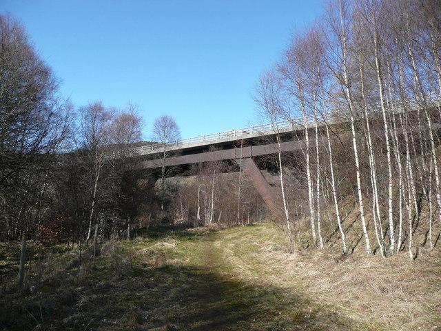 A9 bridge over Allt Girnaig