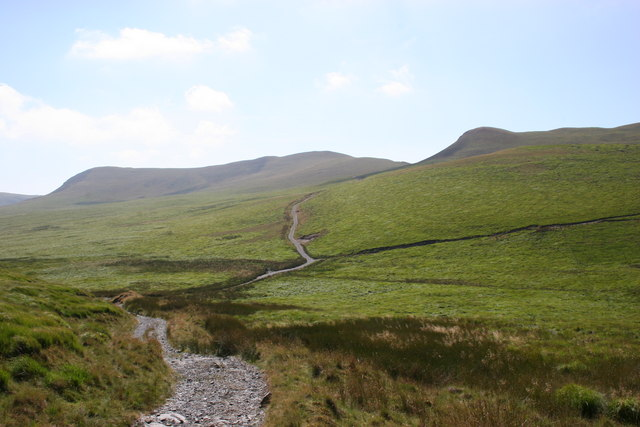 Upland tracks