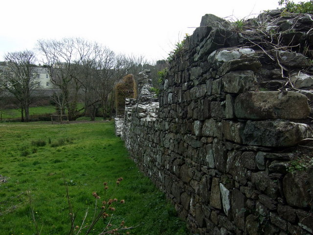 Old close wall