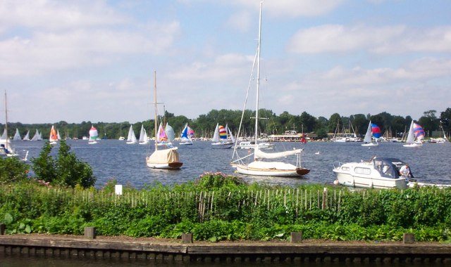 Sailing Regatta-Wroxham Broad