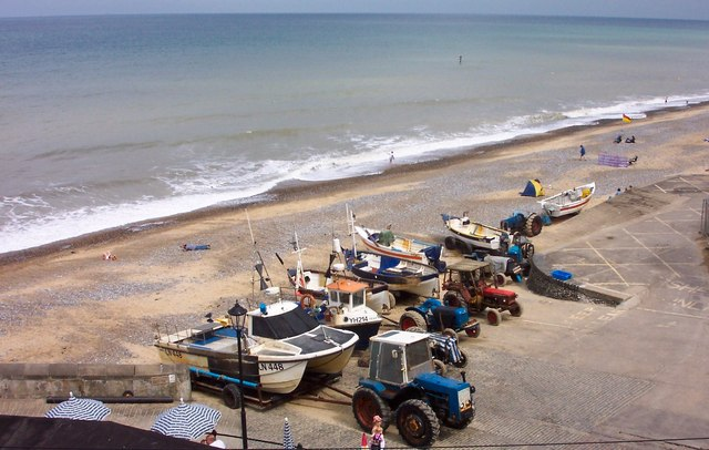 Fishing boats-Cromer