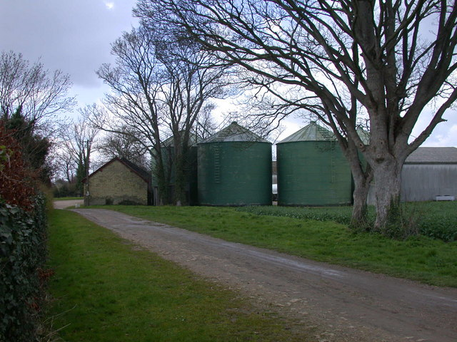 Silos at Bury Farm
