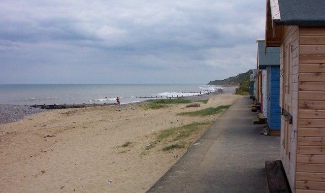 Beach Huts & Groynes-Cromer
